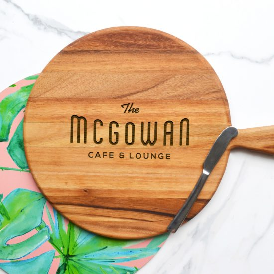 Personalised Cafe and Lounge Cheeseboard