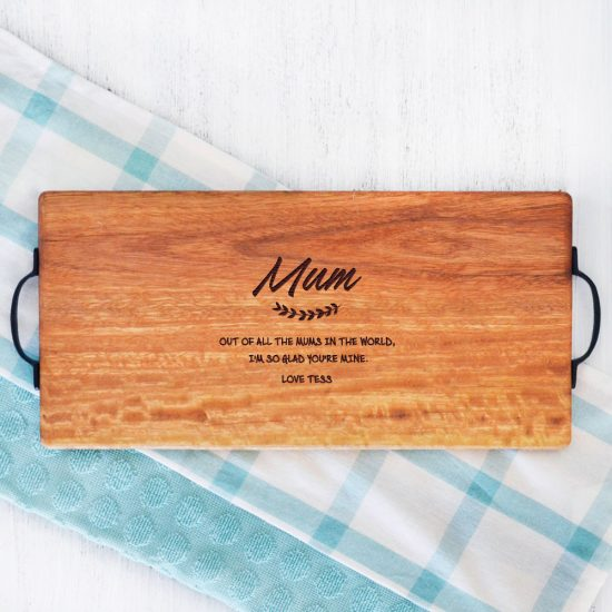 Personalised Mum Quote Serving Board