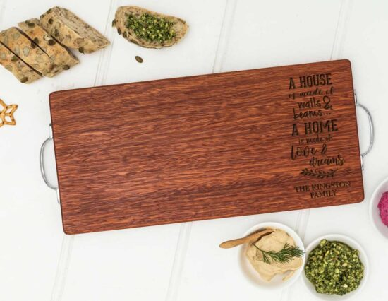 Personalised Home Quote Serving Board