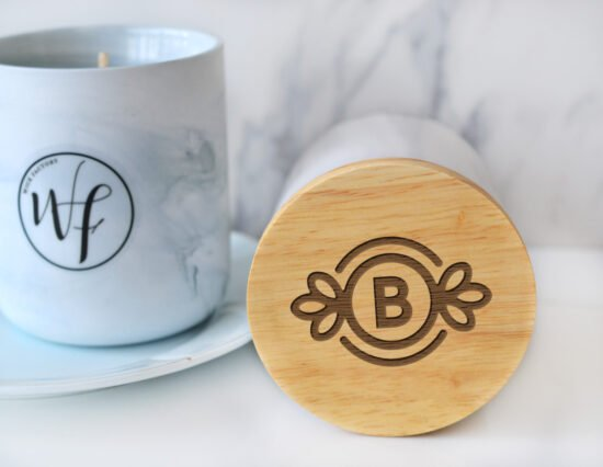 Personalised Initial Candle