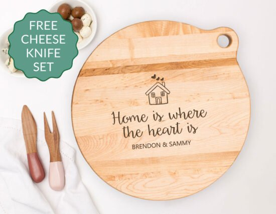 Personalised Home Canadian Maple Cheeseboard