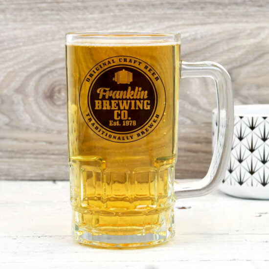 Personalised Trademark Brewery Beer Mug