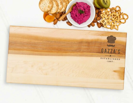 Personalised Chef Hat Serving Board