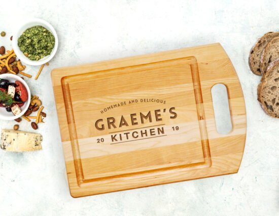 Personalised Kitchen Cutting Board