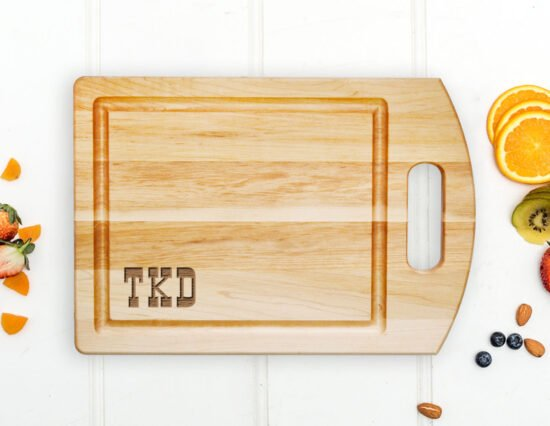 Personalised Branding Iron Cutting Board