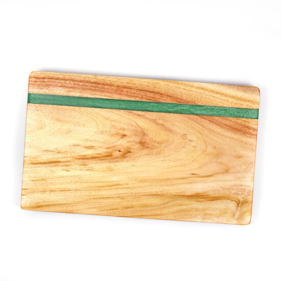Personalised Green Resin Chopping Board